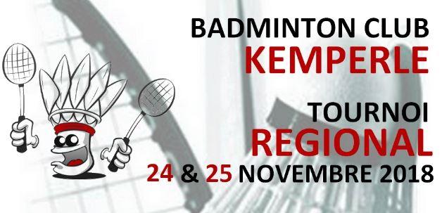 Tournoi Régional 24-25 nov 2018